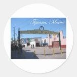 Tijuana Mexico Classic Round Sticker
