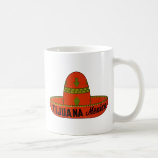 Tijuana Sombrero Travel Sticker Coffee Mug
