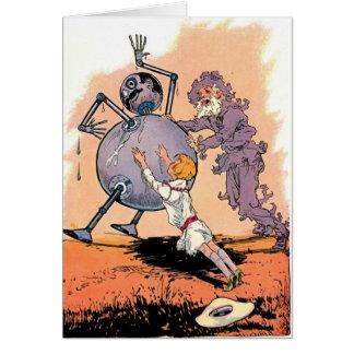 Tik Tok of Oz Card