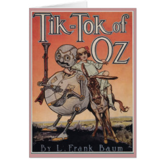 Tik-Tok of Oz Card