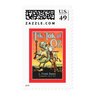 Tik - Tok Of Oz Postage Stamps