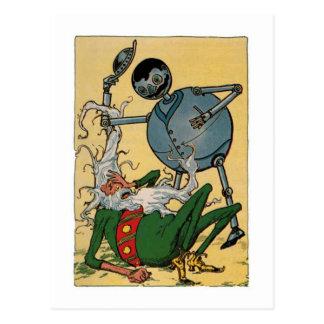 Tik-Tok Vintage Little Wizard of Oz Postcard