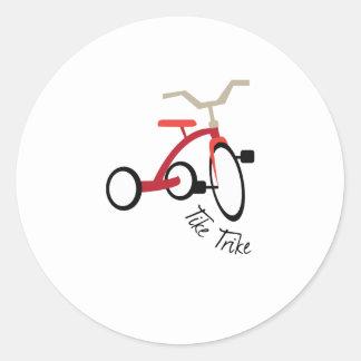 Tike Trike Pegatina Redonda