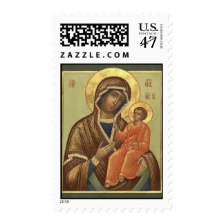 Tikhvin Icon of the Theotokos Postage