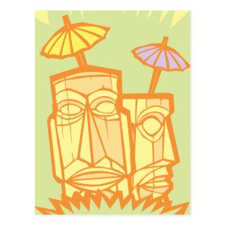 Tiki #3 tarjetas postales