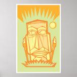 Tiki #4 print