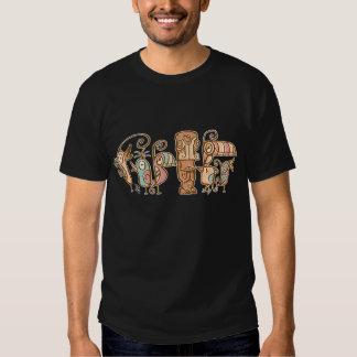 Tiki & 60's Tiki Birds T Shirt