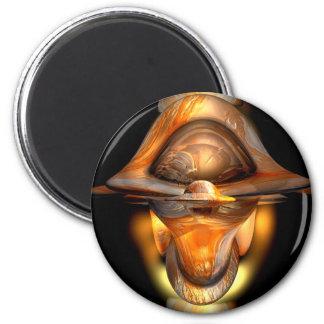 Tiki Abstract Magnet