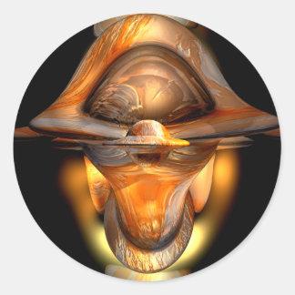 Tiki Abstract Sticker
