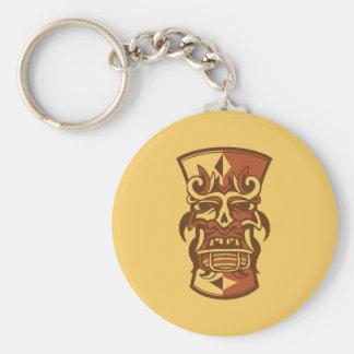 Tiki Art Keychain