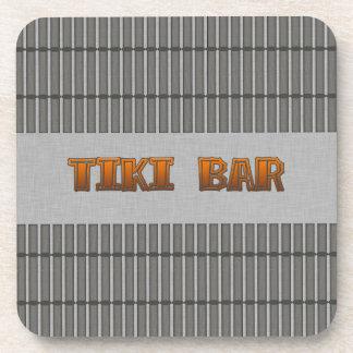 Tiki Bar Beverage Coaster