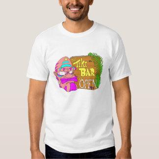 Tiki Bar is OPEN T-shirt