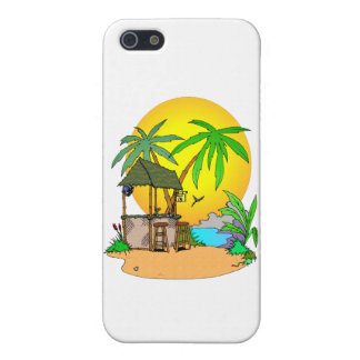 Tiki Bar Island Cover For iPhone SE/5/5s