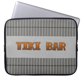 Tiki Bar Laptop Computer Sleeves