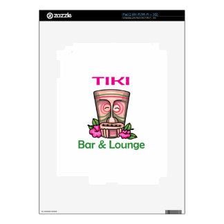 Tiki Bar & Lounge iPad 2 Decal