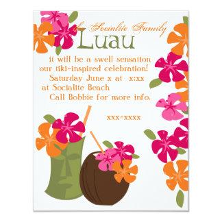 Tiki Blossoms Card