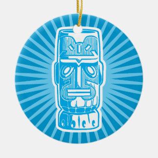 Tiki Blue ornament