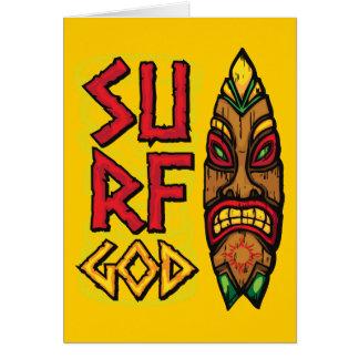 Tiki Board Wind God Card