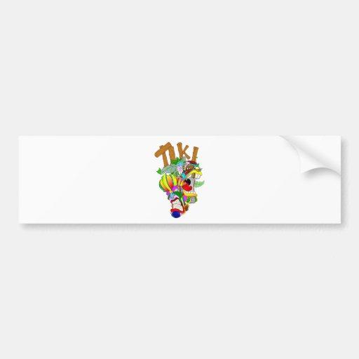TIKI Buddies Bumper Sticker