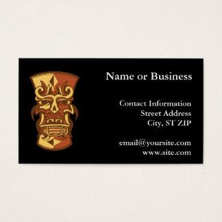 Tiki Business Card