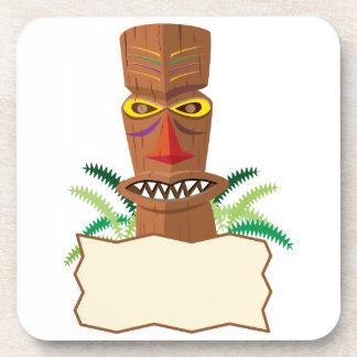 Tiki Drink Coaster