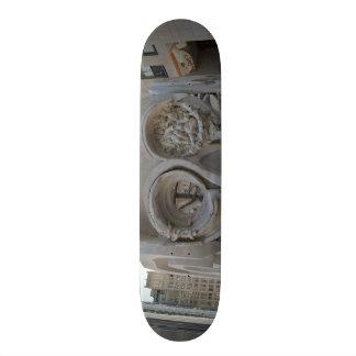 TIKI EYES Skateboard. Skateboard Deck