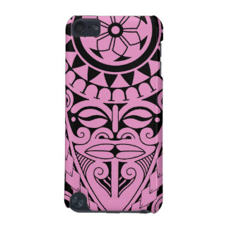 Tiki face and tribal sun tattoo design iPod touch 5G covers