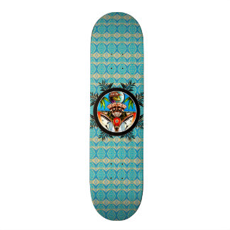 Tiki Frog Skateboard Deck