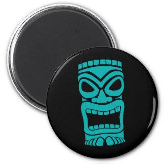 Tiki God 2 Inch Round Magnet