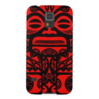Tiki god tattoo design polynesian face tribal galaxy s5 cover