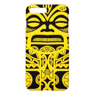 Tiki god tattoo design polynesian face tribal iPhone 8 plus/7 plus case