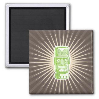Tiki Green magnet