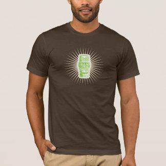 Tiki Green shirt