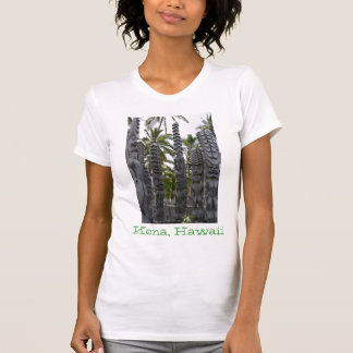 Tiki Guardians at Place of Refuge - T-Shirt