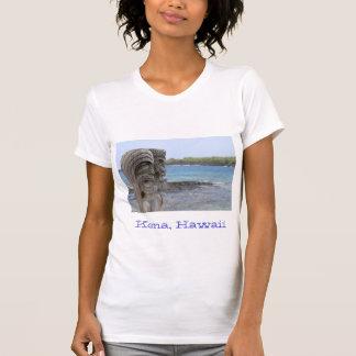 Tiki Guardians in Kona, Hawaii - T-Shirt