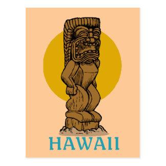 Tiki hawaiano postal