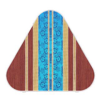 Tiki Hawiian Faux Wood Surfboard Bluetooth Speaker