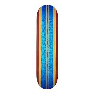 Tiki Hawiian Faux Wood Surfboard Skate Board Decks