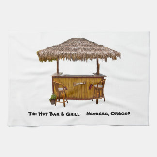 Tiki Hut Bar Towel