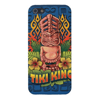 Tiki King Blue iPhone SE/5/5s Cover