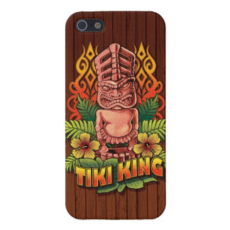 Tiki King Wood Case For iPhone SE/5/5s