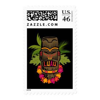 Tiki Luau Stamp
