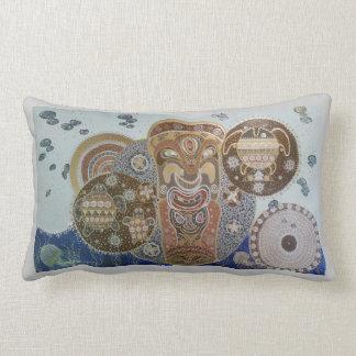 Tiki Lumbar Pillow