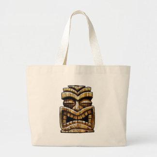 Tiki Man Tote Bag