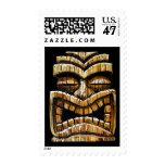Tiki Man Postage Stamp