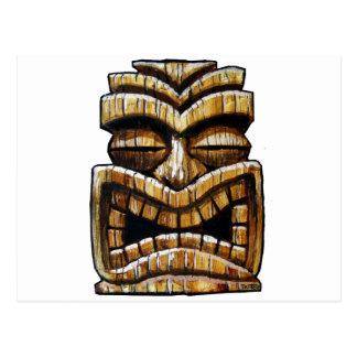 Tiki Man Postcard