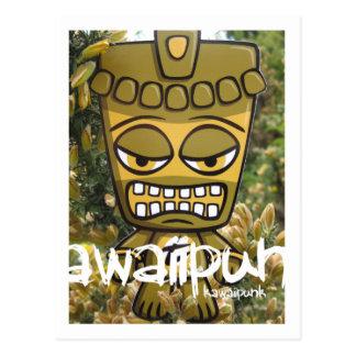 Tiki Mascot Postcard
