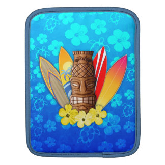 Tiki Mask And Surfboards Sleeves For iPads