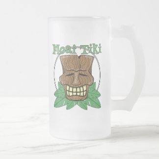 Tiki Mask Frosted Mug