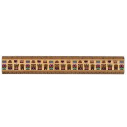 Tiki Masks Pattern Ruler